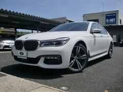 BMW740i Mスポーツ ブラックレザー レーザーライト 禁煙車