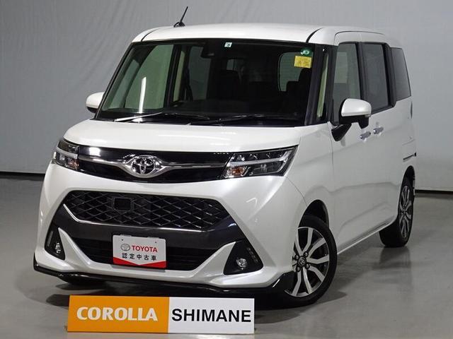 トヨタ タンク カスタムG-T LEDヘッドライト ETC 純正アルミホイル スマートキー