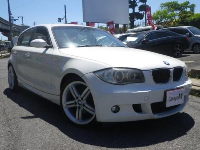 BMW 1シリーズ 120i Mスポーツパッケージ Mスポーツパッケージ プッシュスタート 18AW 社外ナビ 車検整備付き