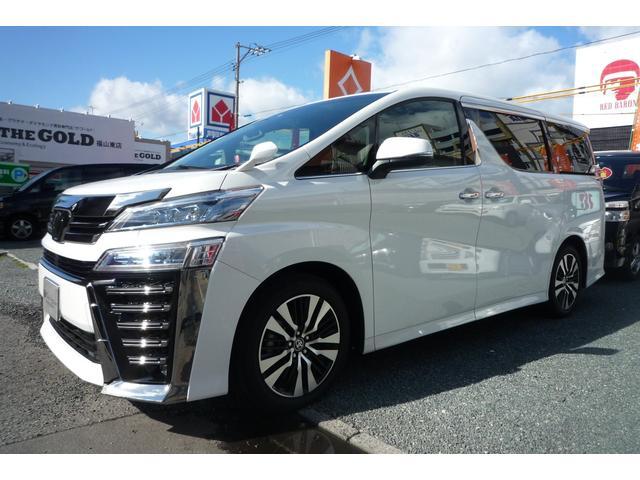 トヨタ 2.5Z Gエディション 3眼LED ツインムーンルーフ