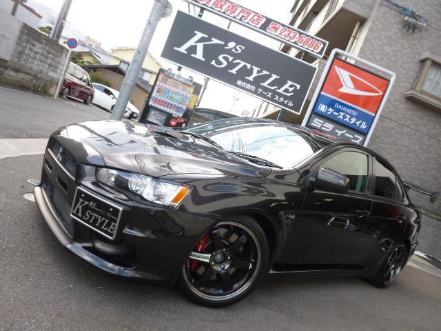 三菱 GSRエボリューションX TE37 車高調 GTウィング