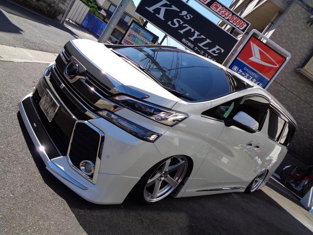 トヨタ 2.5Z Gエディション BOLDエアサス JBL SR