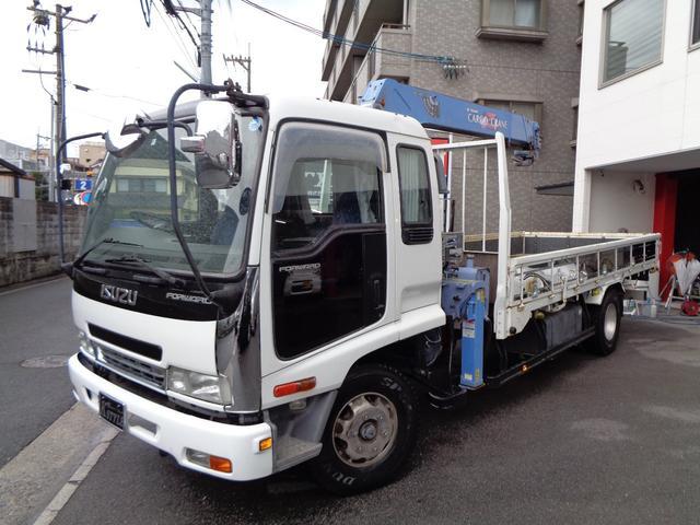いすゞ タダノZR364ラジコン 4段クレーン アルミホイル