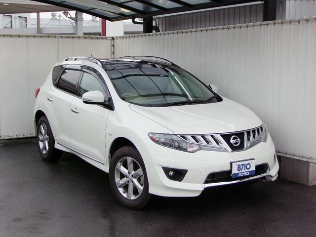 日産 350XV FOUR 4WD 純正エアロ/サンルーフ/本革