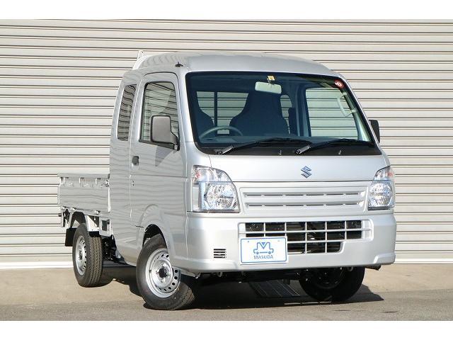スズキ L 新型届出済未使用車 4WD 5MT 前後誤発進抑制機能付