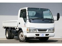 エルフトラック高床 3t ディーゼル 荷台木製 NOX適合 リアWタイヤ