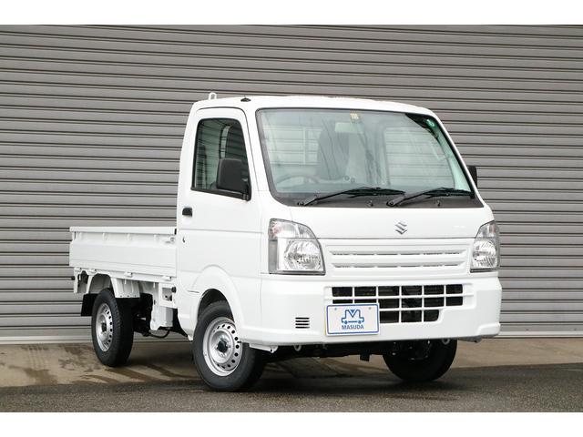 スズキ KCエアコン・パワステ 新型 届出済未使用車 5MT 4WD エアコン パワステ