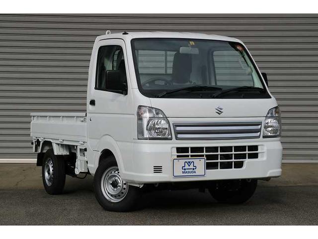 スズキ KCエアコン・パワステ 新型届出済未使用車 4WD 5MT 新型届出済未使用車 エアコン パワステ 4WD 5MT オートライト メッキグリル
