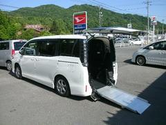 ヴォクシーX 4WD 福祉車輌電動スロープタイプ1仕様 両側PSD