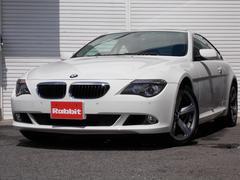 BMW630i純正HDDナビパワーシートガラスルーフ純正アルミ