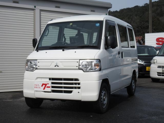 三菱 CD ハイルーフ 4WD オートマ エアコン パワステ ナビ