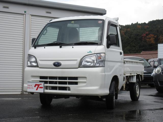 スバル JA 4WD 5速MT エアコン パワステ ラジオ 軽トラ