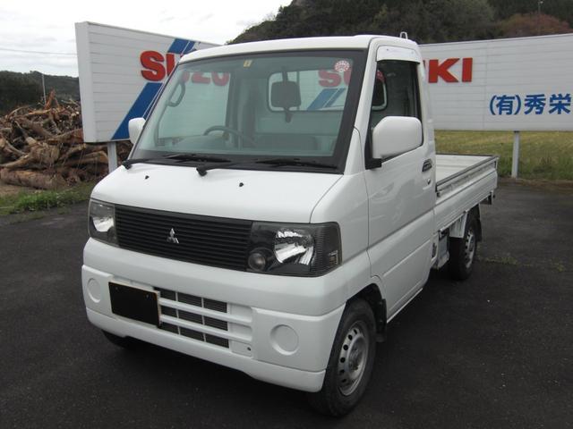 三菱 ミニキャブトラック VX-SE エアコン パワステ 低速モード付パートタイム4WD 5速MT
