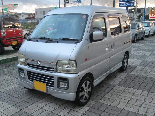 「スズキ」「エブリイワゴン」「コンパクトカー」「広島県」の中古車