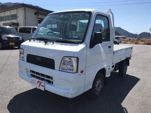 スバル TB 4WD 三方開 AC MT 軽トラック