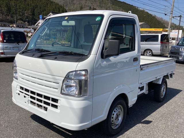 スズキ KCエアコン・パワステ 4WD 5速MT エアコン パワステ