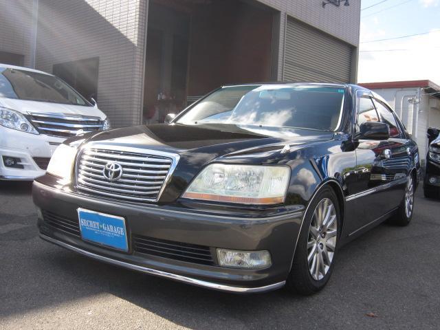 トヨタ 3.0C本革黒ツートンケンウッドメモリーナビ車高調17AW