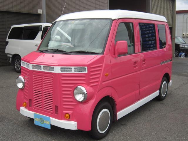 スズキ PA 移動販売車キッチンカーフレンチバス仕様加工車登録88ナンバー2名乗車の軽四登録。