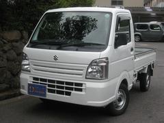 キャリイトラックKCエアコン・パワステ 5MT 4WD 荷台マット付