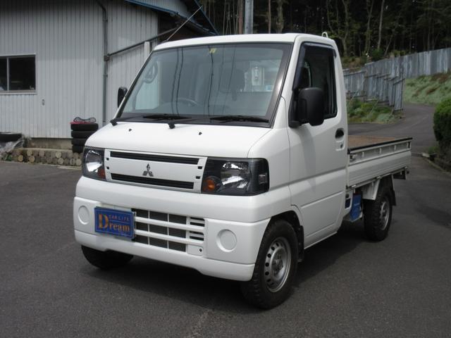 三菱 ミニキャブトラック ダンプ 4WD 5速MT エアコン パワステ ラジオ