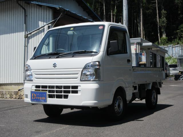 KCエアコン・パワステ 4WD 5速MT エアコン パワステ ラジオ 荷台マット(1枚目)