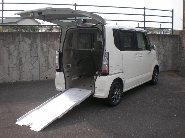 ホンダ N-BOX+  4WD 車いす仕様車 ETC バックカメラ 14インチアルミ&タイヤ新品 乗車定員3人