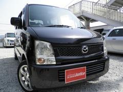 AZワゴンFX ディーラーワンオーナー車HIDレザー調カバー社外テール