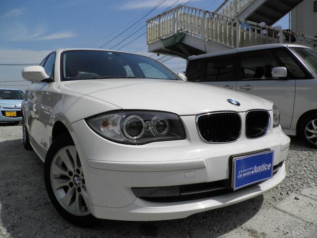 BMW 116正規ディーラーメンテ車ワンオーナ禁煙車ガラスコート