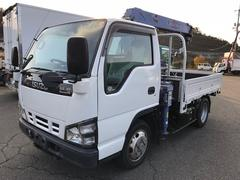 エルフトラッククレーン付 4WD