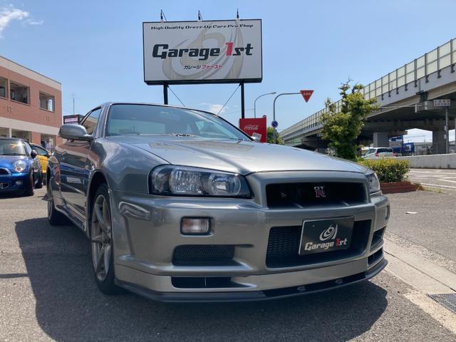 日産 スカイライン GT-R VスペックII 走行9000キロ台 屋内保管 レカロRMS MOMOステアリング(純正シート&ステアリング保管)