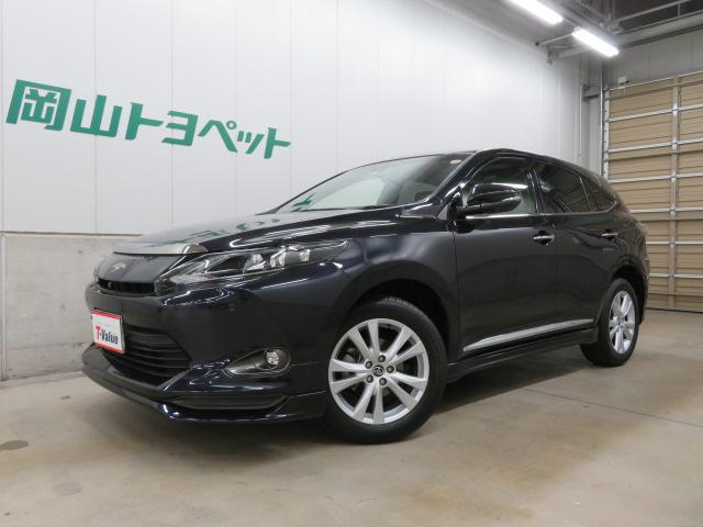「トヨタ」「ハリアー」「SUV・クロカン」「岡山県」の中古車