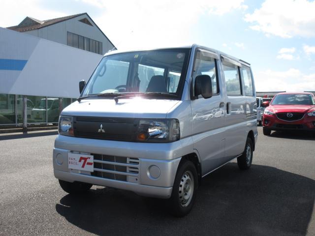 三菱 CD 4WD 5速MT エアコン パワステ Wエアバッグ
