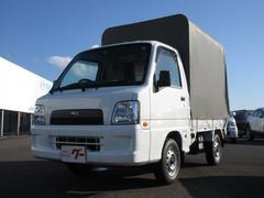 サンバートラックTB 4WD 幌付き エアコン エアバッグ 5速MT