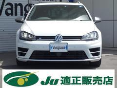 VW ゴルフRヴァリアントベースグレード パノラマルーフ 純正ナビTV 黒本革 LED