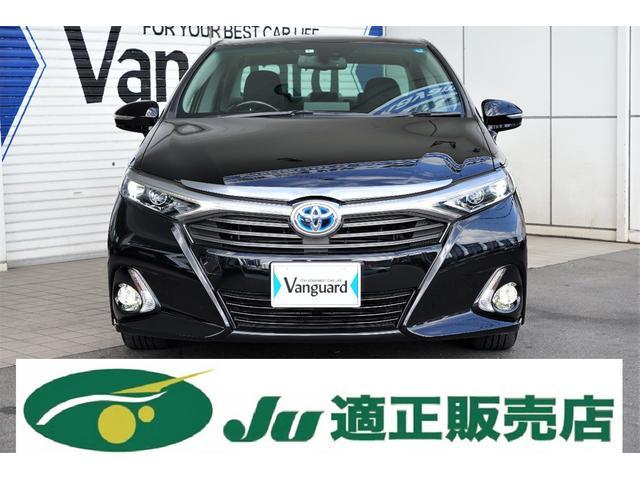 トヨタ G 純正ナビTV オプション黒本革18アルミ LEDヘッド