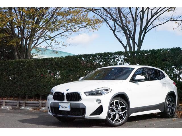BMW X2 xDrive 20i MスポーツX アドバンスアクティブセーフティパッケージ 純正HDDナビ・DVD再生・USB接続・ミュージックコレクション・Bluetooth接続対応 ドライビングアシスト パワーバックドア パドルシフト スペアキー
