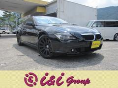 BMW630i SR 黒皮シート 年間走行距離無制限保証付