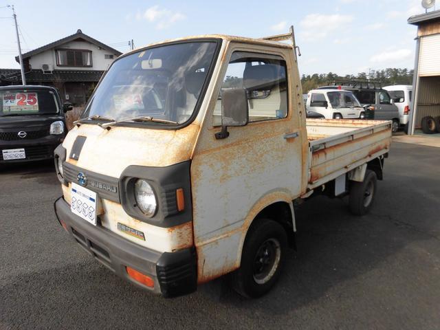 スバル サンバートラック ベースグレード 2WD 4速マニュアル
