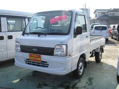 サンバートラックJA 4WD 5MT エアコン パワステ CD エアバック
