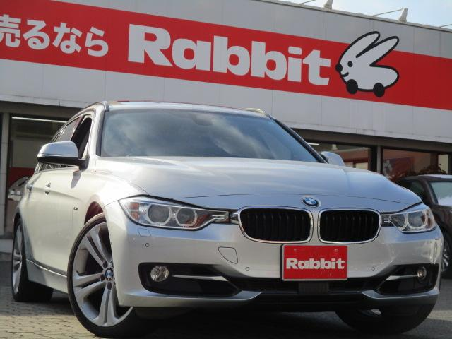 BMW 328iツーリング スポーツ SR 黒革 19inアルミ