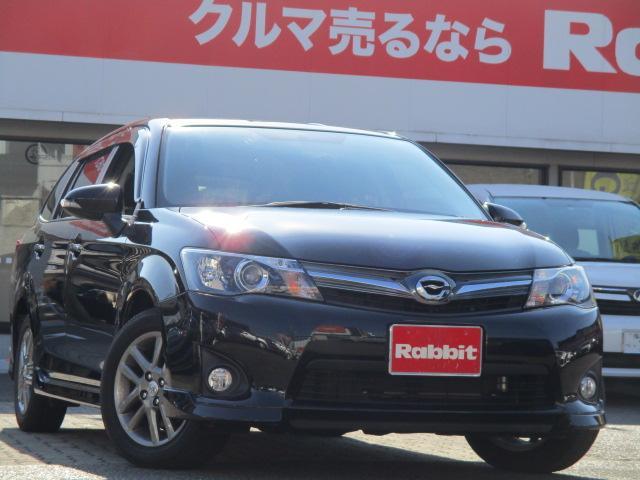 トヨタ 1.5G エアロツアラー・ダブルバイビー 社外SDナビ