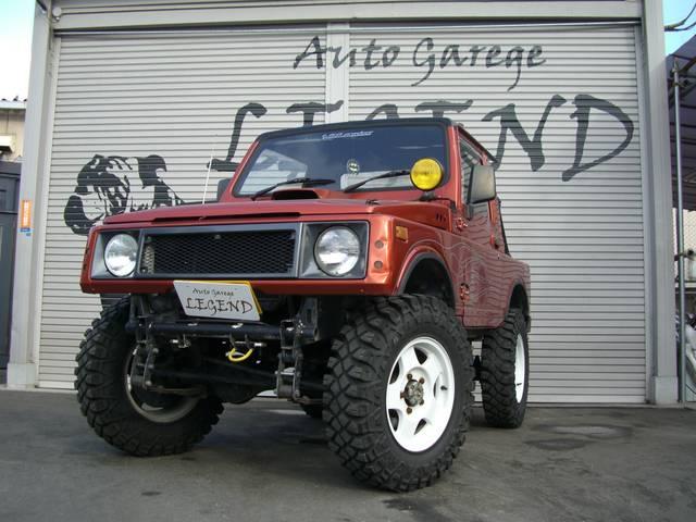 スズキ ベースグレード バンカットスタイル ターボ 4WD アルミ
