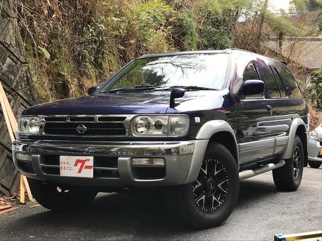 日産 G3m-R 4WD ディーゼルターボ SD地デジナビ ETC