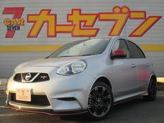 マーチニスモ S 5MT 新品ナビ 当社元試乗車 プッシュスタート