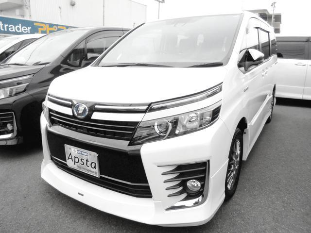 トヨタ ハイブリッドZS ナビ フルセグTV 7人乗 Frモデリスタ