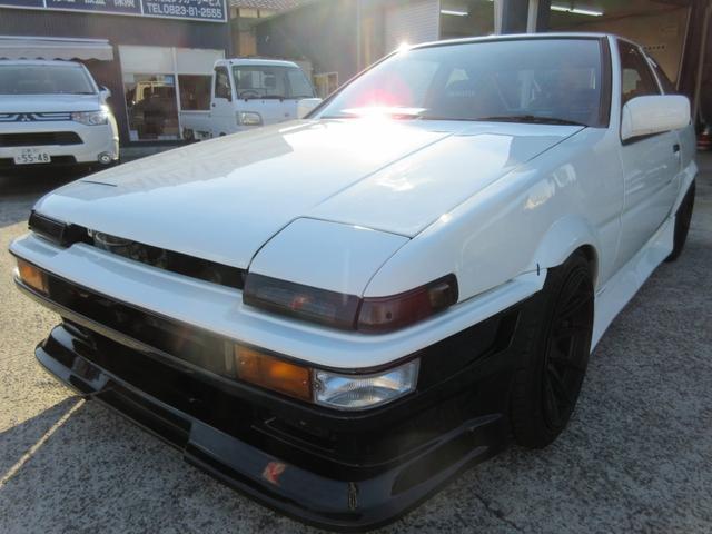 トヨタ GT-V5バルブ車高調LSD社外アルミ柿本マフラーエアロ