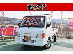 サンバートラックオートマ 4WD ETC 13インチアルミ ラジオ