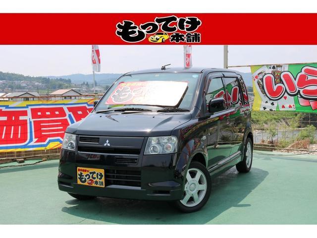三菱 R 1年保証 ターボ 4WD シートヒーター キーレス CD