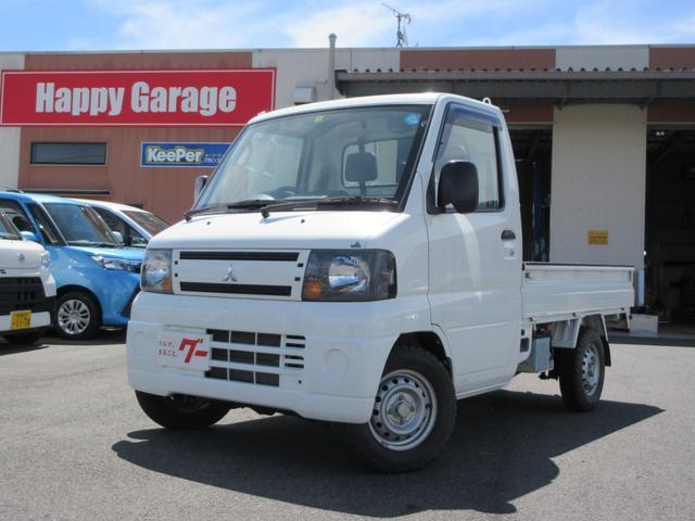 三菱 ミニキャブトラック JAスーパーカスタム 4WD 5速MT エアコン パワステ