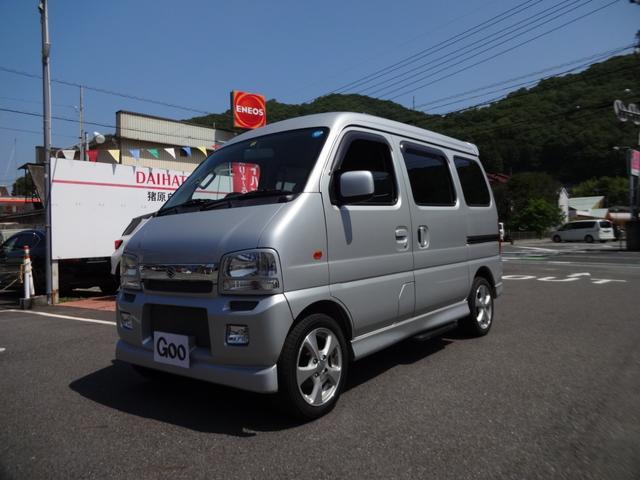 「スズキ」「エブリイワゴン」「コンパクトカー」「岡山県」の中古車